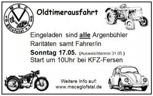 Oldtimerausfahrt